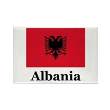 Albania Rectangle Magnet