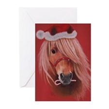 Unique Cute pony Greeting Cards (Pk of 20)