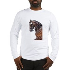 Dressage Horse Long Sleeve T-Shirt