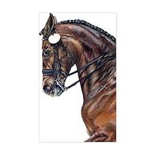 Dressage Horse Rectangle Decal