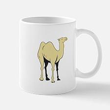 Camel Side View Cartoon Mugs