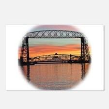 Sunrise under the Bridge Postcards (Package of 8)