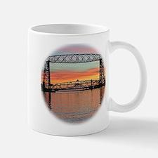 Sunrise under the Bridge Mugs