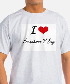 I love Frenchman'S Bay Virgin Islands art T-Shirt
