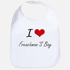 I love Frenchman'S Bay Virgin Islands artisti Bib