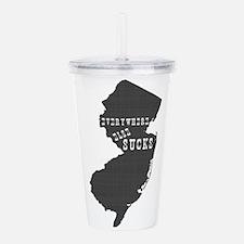 New Jersey Acrylic Double-wall Tumbler