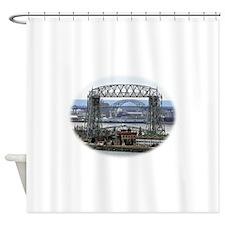 Bridge within a bridge within a bridge Shower Curt