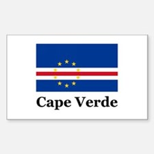 Cape Verde Rectangle Decal