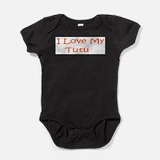Cute Tutu Baby Bodysuit