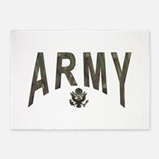 army_x2a.png 5'x7'Area Rug