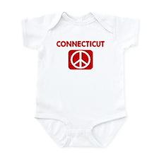 CONNECTICUT for peace Infant Bodysuit