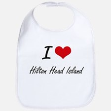 I love Hilton Head Island South Carolina arti Bib
