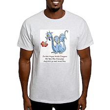 Dragon Brie Ash Grey T-Shirt
