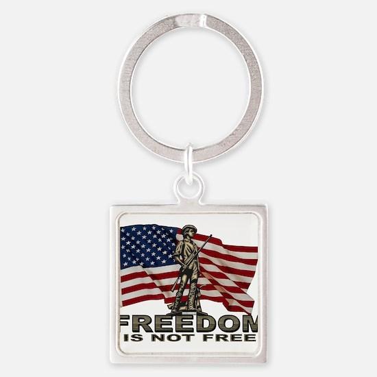 FREEDOM NOT FREE Keychains
