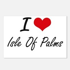 I love Isle Of Palms Sout Postcards (Package of 8)