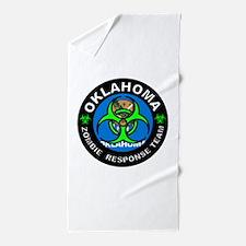 OK ZRT Green Beach Towel