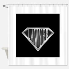 spr_LAWYER_cXis.png Shower Curtain