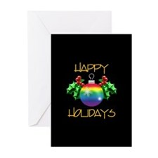 Unique Happy holiday Greeting Cards (Pk of 20)