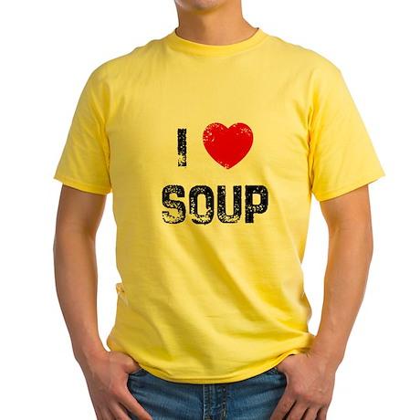 I * Soup Yellow T-Shirt