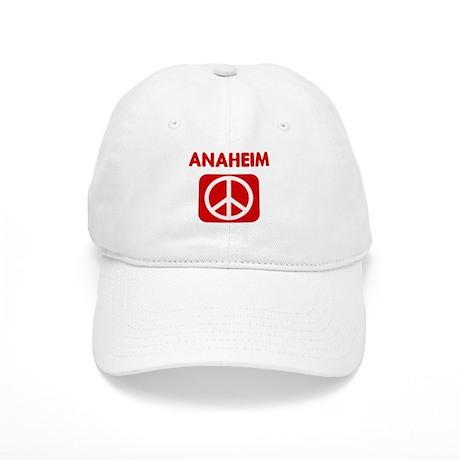 ANAHEIM for peace Cap