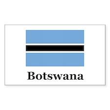 Botswana Rectangle Decal