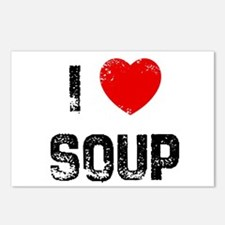 I * Soup Postcards (Package of 8)