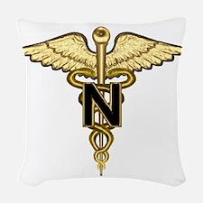 nurse_corps5.png Woven Throw Pillow