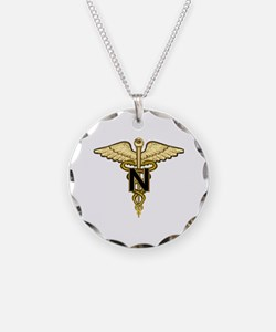 nurse_corps5.png Necklace Circle Charm