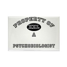 Property of a Psychobiologist Rectangle Magnet