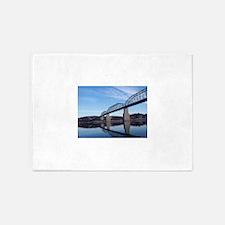 Walnut_Street_Bridge 5'x7'Area Rug
