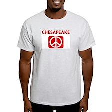 CHESAPEAKE for peace T-Shirt