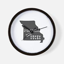 Missouri Wall Clock
