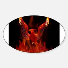 Phoenix Rising Rectangle Decal