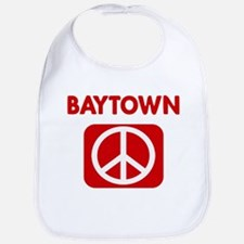 BAYTOWN for peace Bib