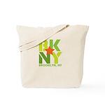 BK Brooklyn, NY Tote Bag