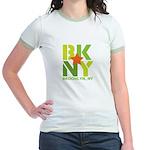 BK Brooklyn, NY Jr. Ringer T-Shirt