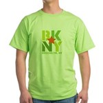 BK Brooklyn, NY Green T-Shirt