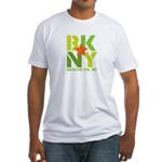 BK Brooklyn, NY Fitted T-Shirt