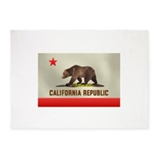californiabf.png 5'x7'Area Rug