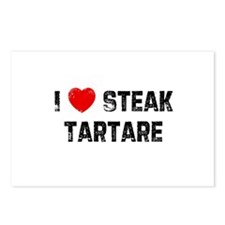 I * Steak Tartare Postcards (Package of 8)