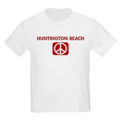 HUNTINGTON BEACH for peace T-Shirt