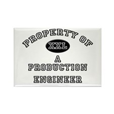Property of a Production Engineer Rectangle Magnet