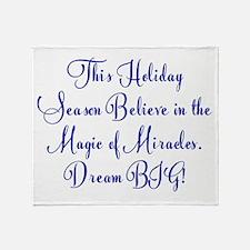 Season of Miracles Throw Blanket
