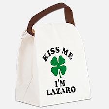 Funny Lazaro Canvas Lunch Bag