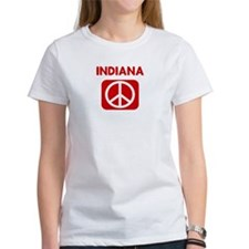 INDIANA for peace Tee