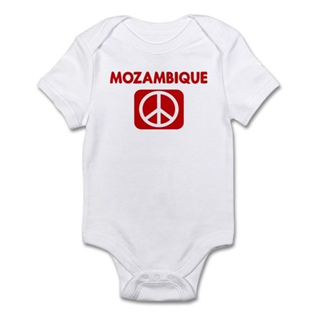MOZAMBIQUE for peace Infant Bodysuit