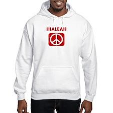 HIALEAH for peace Hoodie