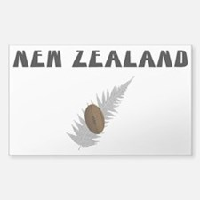 New Zealand Rugby Rectangle Decal
