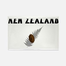 New Zealand Rugby Rectangle Magnet