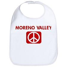 MORENO VALLEY for peace Bib
